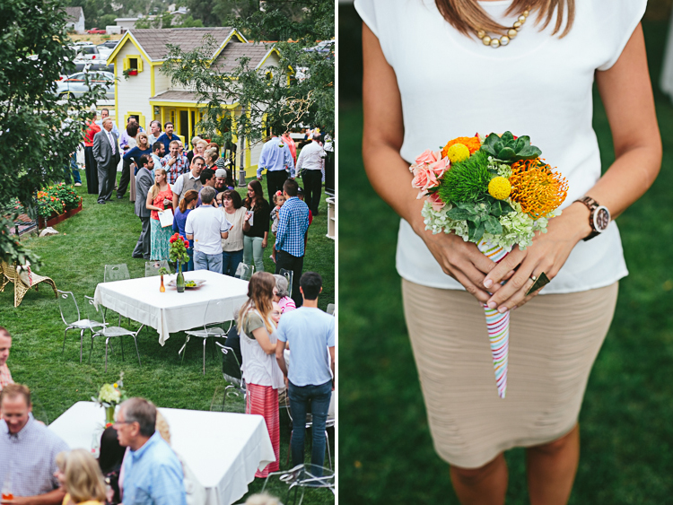 Backyard wedding 43